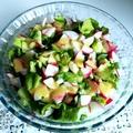 Kedvenc tavaszi trikolor salátám pikáns dresszinggel