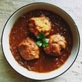 Cukkini labda curry, azaz a lauki kofta