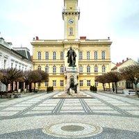Séta Észak-Komáromban - Avagy a Klapka György tér felfedezése