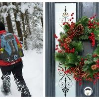 Túrázzatok egy jót és gyűjtsetek erdei díszítőanyagokat a karácsonyi dekorációhoz!