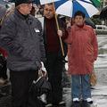 Terry Black Egerben tüntetett