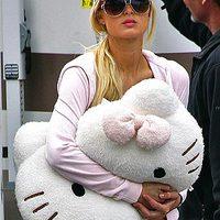 Hello Kitty celeb módra