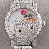 Hello Kittys gyémánt óra