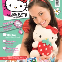 Találtam Hello Kitty magazint itthon!!!!!!