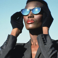 A divatipar fekete párduca: Grace Jones
