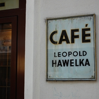 A Café Leopold Hawelka