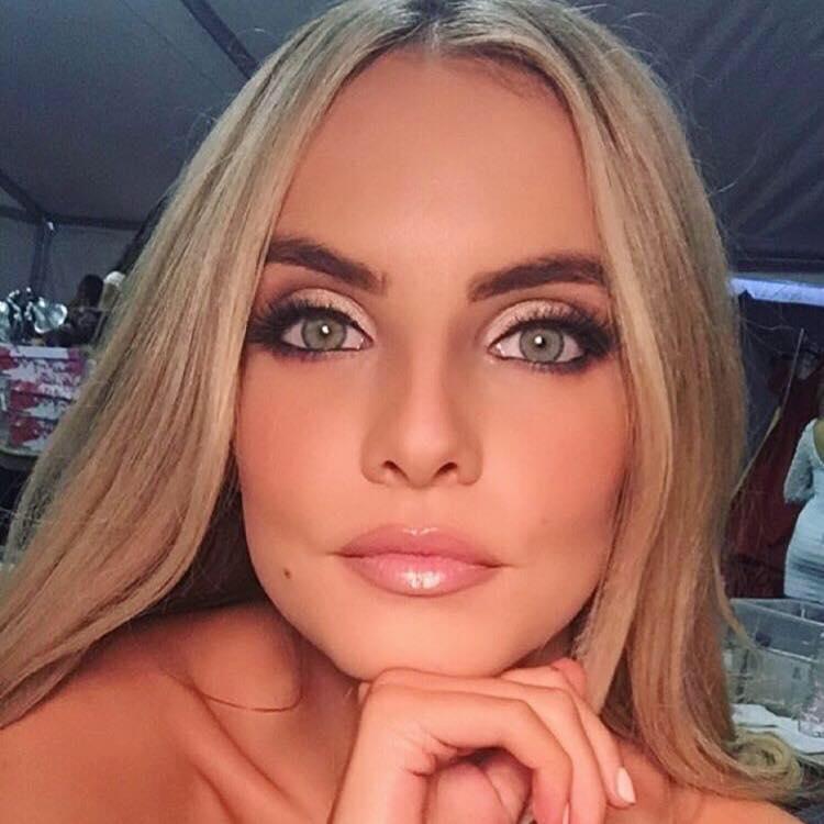 Joanna Cooper, Miss Ireland 2015 (Fotó: facebook.com/j0annacooper)