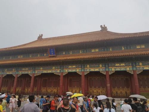 Pekingben (Fotó: Pataki Niki)