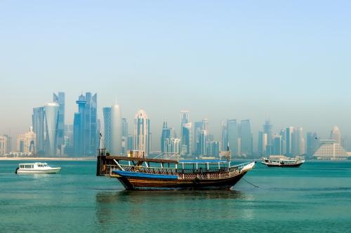 A csendes Doha (Fotó: flickr/Francisco Anzola)