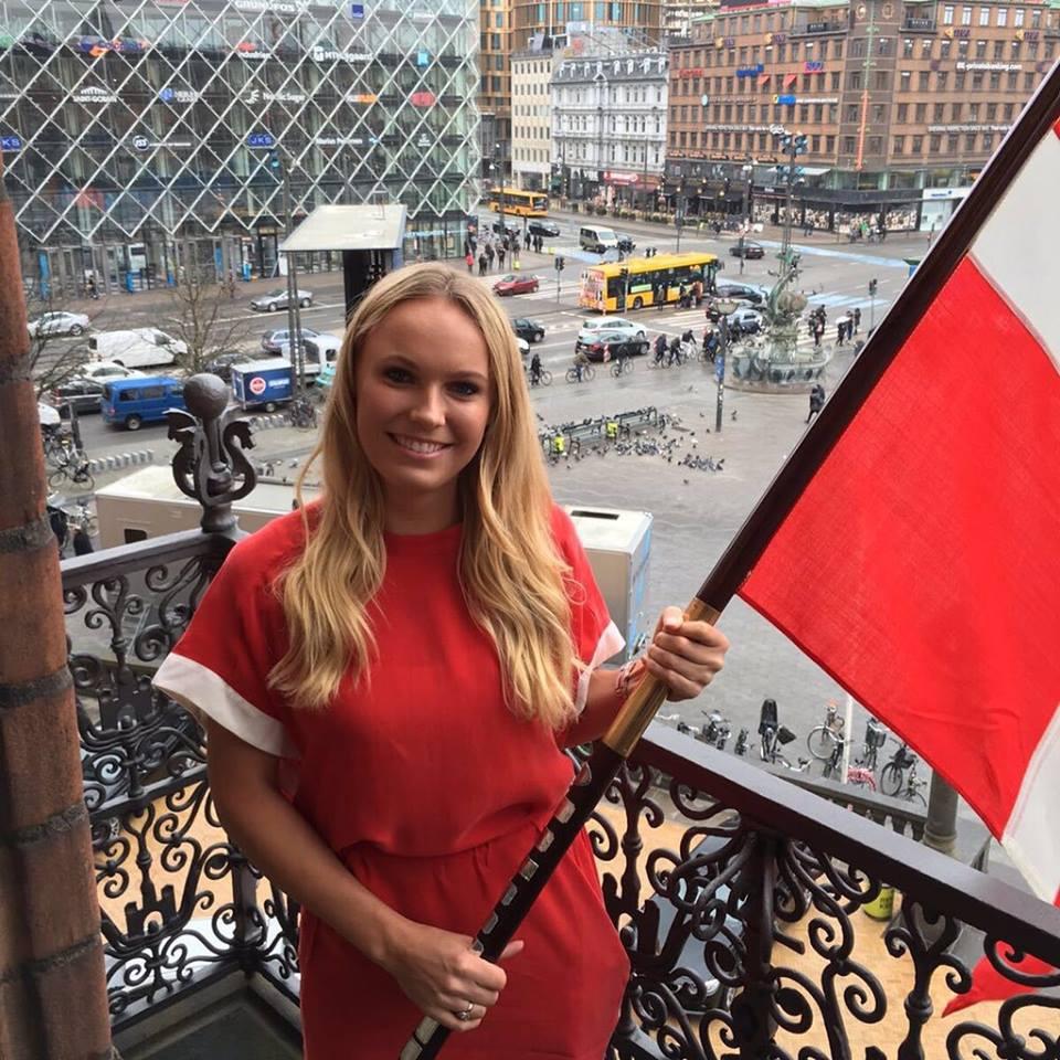 Caroline Wozniacki, teniszező (Fotó: facebook.com/carolinewozniacki)