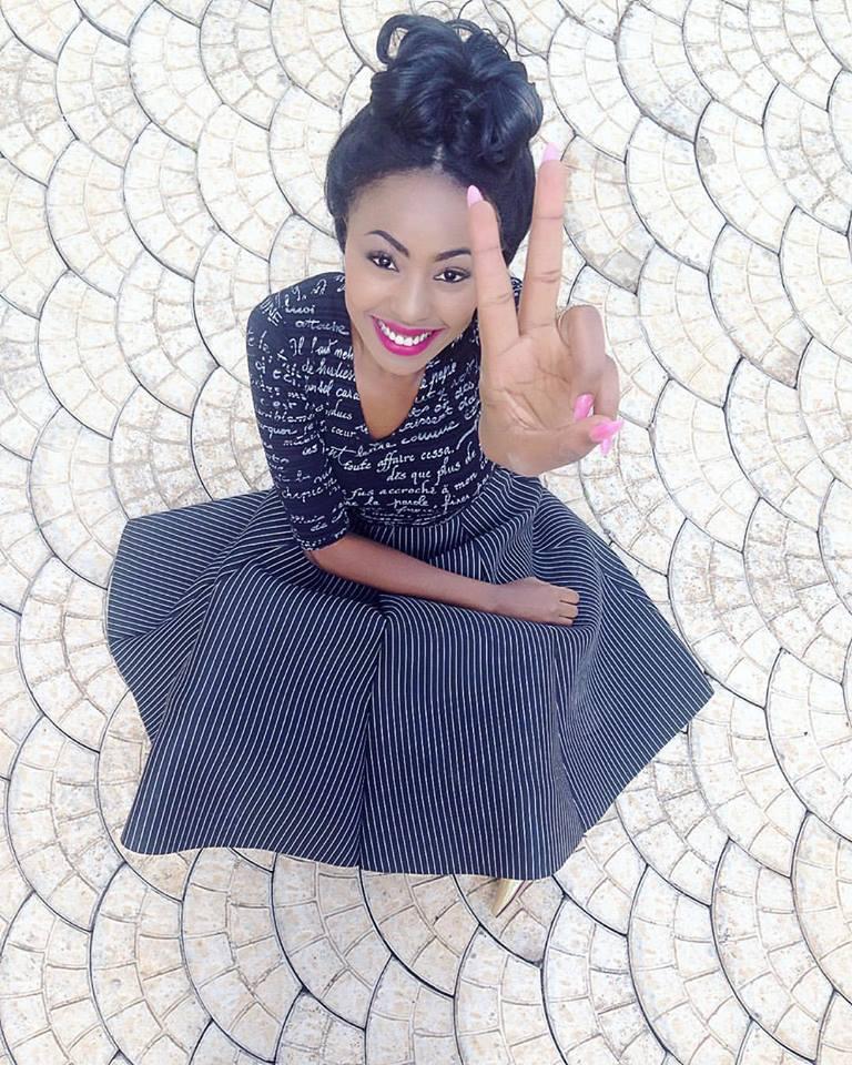 Charity Mwangi, Miss Kenya 2015 (Fotó: facebook.com/cherryMs.Alex)