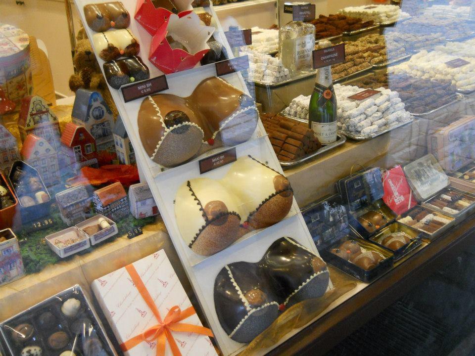 A belga csokoládé legyen az bármilyen formájú és nagyságú, tényleg nagyon finom. - (Fotó: Botos Zsuzsanna)