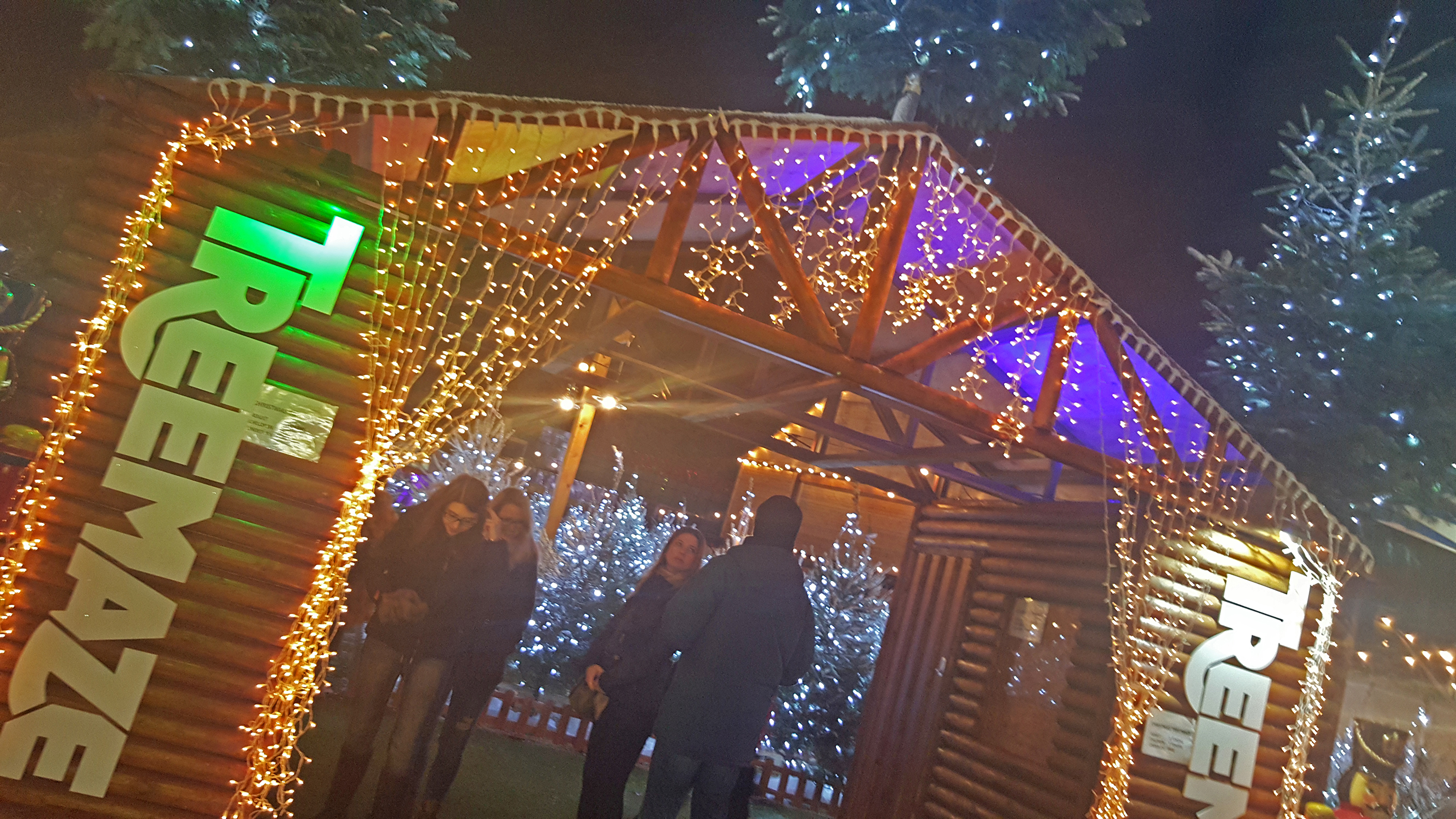 Hyde Park Winter Wonderland (Fotó: Fekete Szilvi)