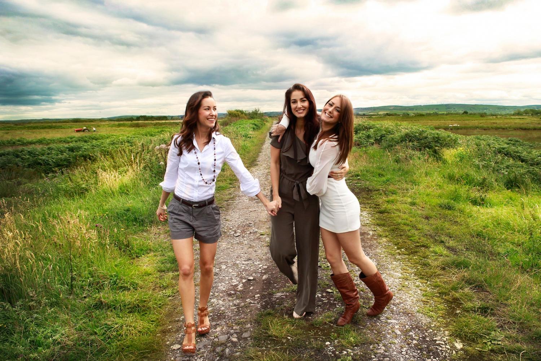 Ír lányok (Fotó: womenofireland.com)