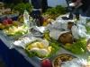 Házi csirke, házi sajt, házi raki, török nemzeti ital (Fotó: Jani haverja)