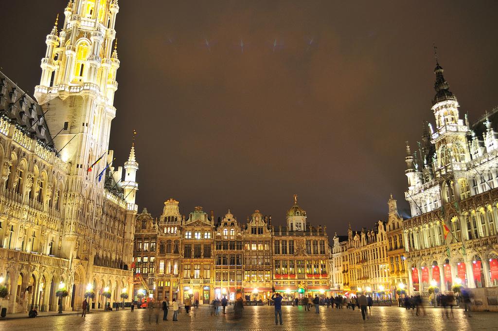 Grand Place (Fotó: Flickr/Juan Rubiano)