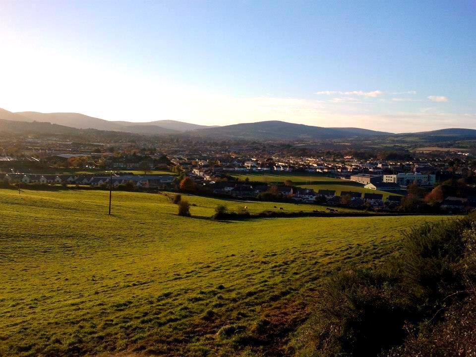Kilátás a Bray Headről (Fotó: Mórocz Ági)