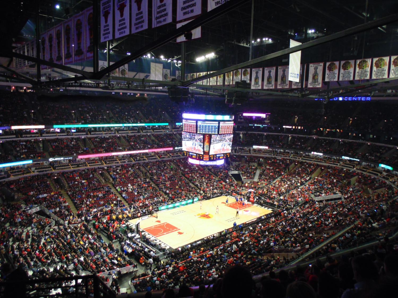Ha Chicago, akkor Bulls. Akár itt élsz, akar látogatóban jársz erre, egy Chicago Bulls meccs kötelező és felejthetetlen élmény. - (Fotó: Hegyes Dóra)