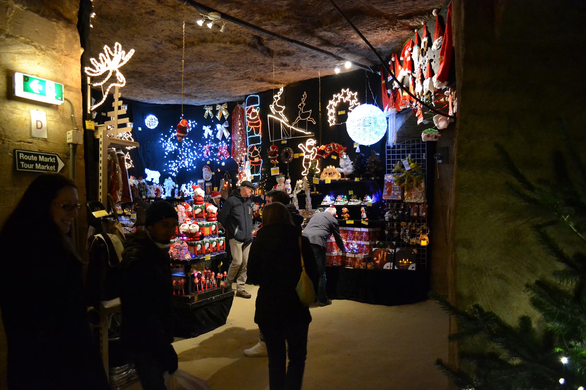 Valkenburgi karácsonyi vásár (Fotó: Bencsik Rita)
