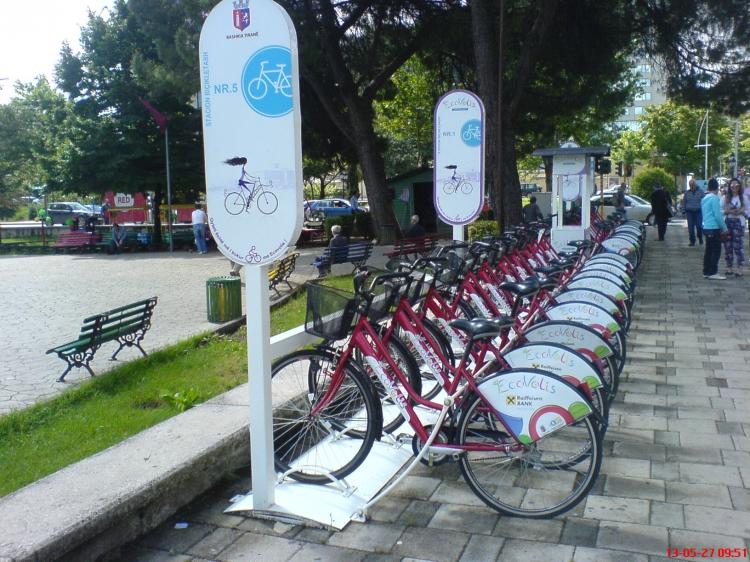 EcoVolis, a kerékpárkölcsönző hálózat (Fotó: Jani haverja)