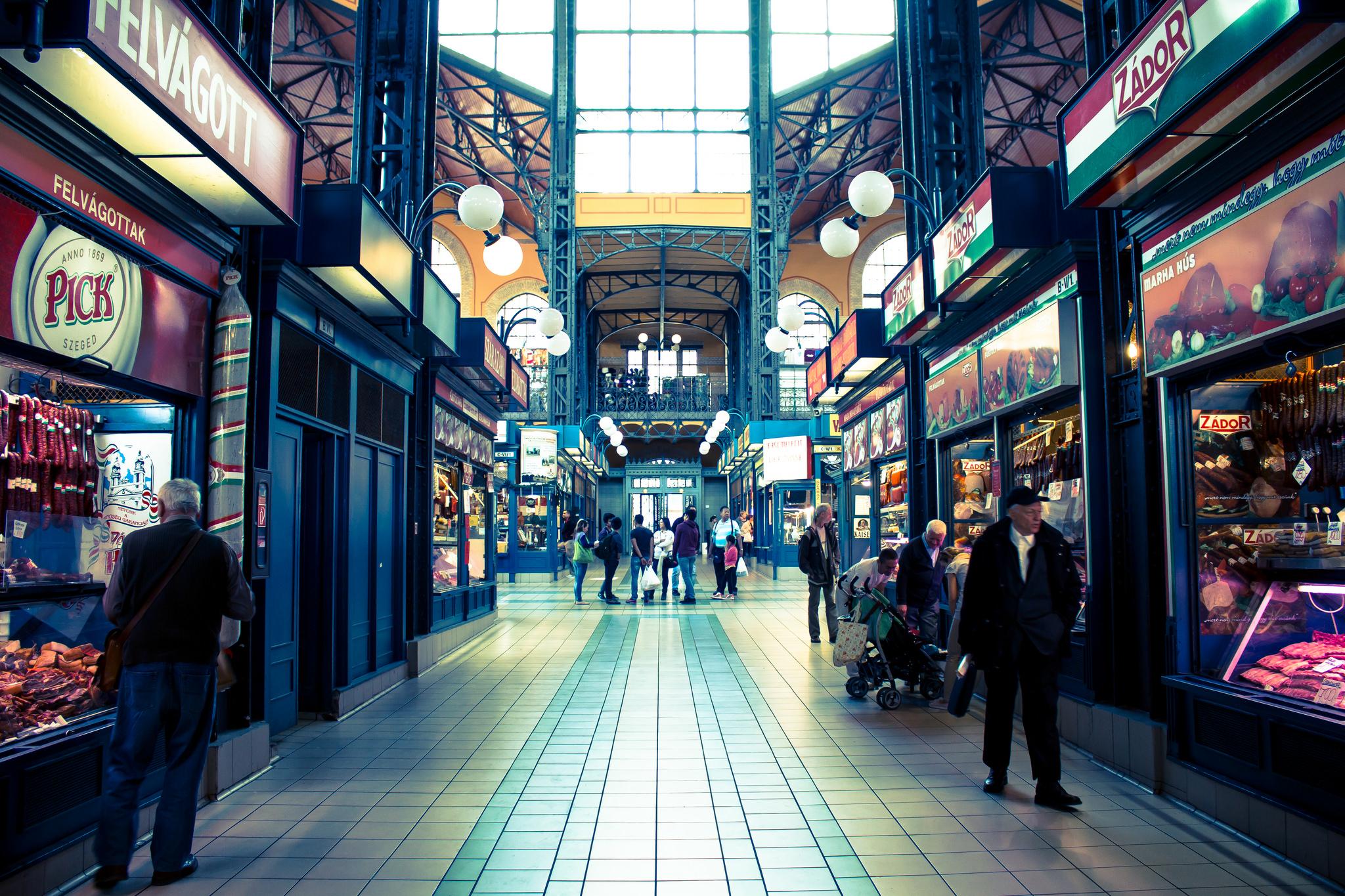 Mindenki szeretett vásárcsarnoka (Fotó:Flickr/Sanjib Mitra)