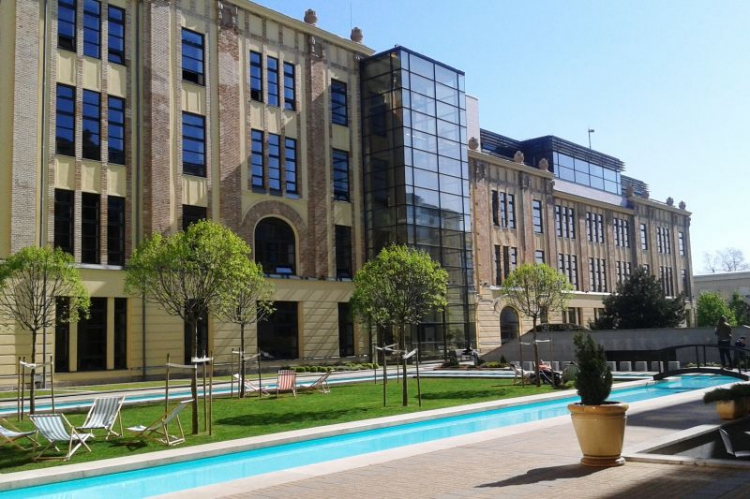 Dorottya udvar, egy szintén zöld minősítést elnyerő irodaház (Fotó: irodablog.hu)