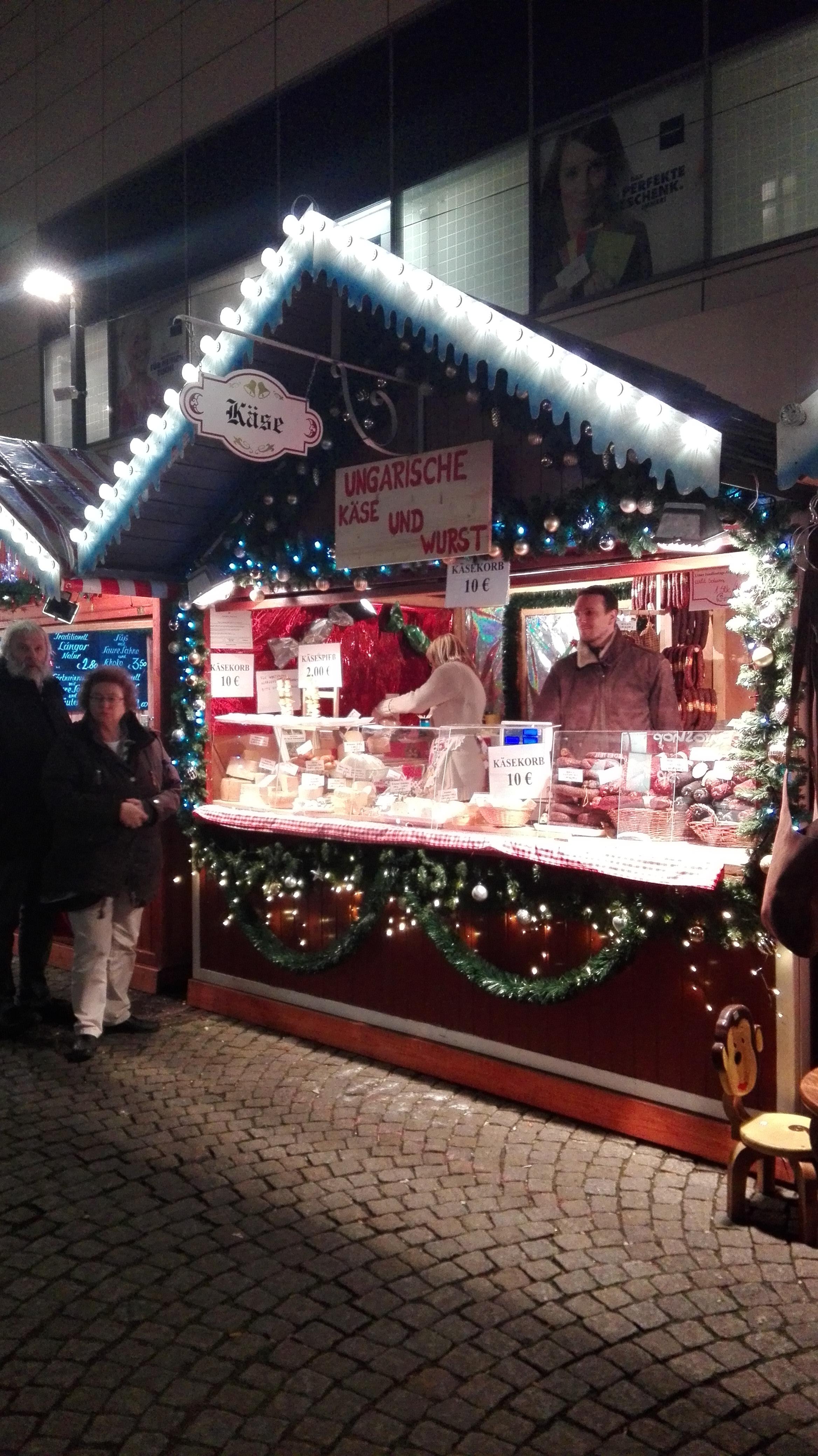 Berlini karácsonyi vásár (Fotó: Zsák Kata)
