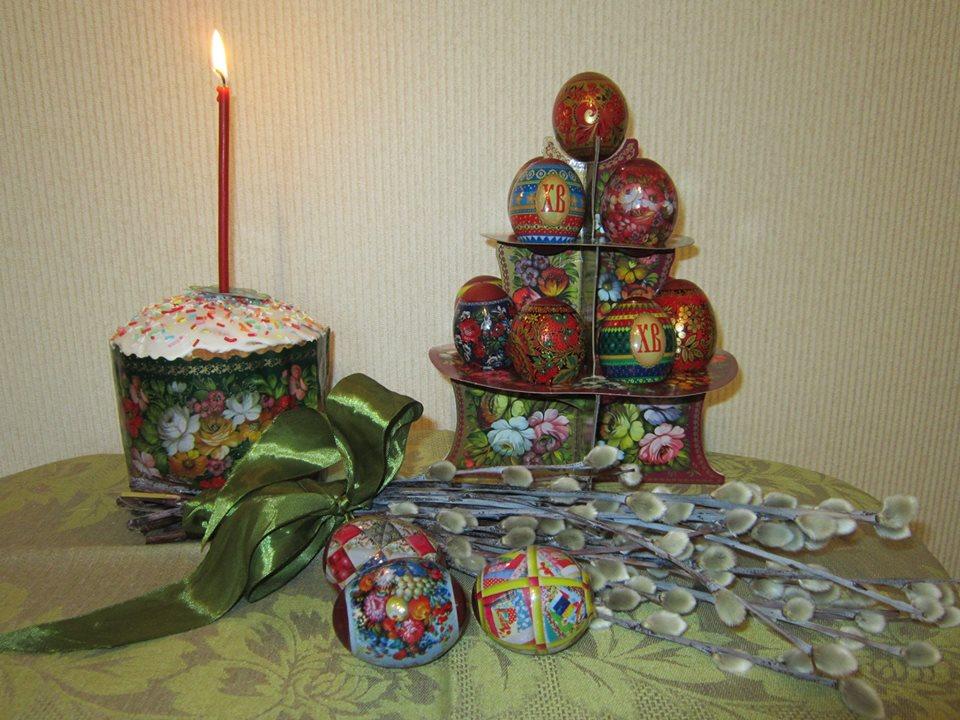 Hangulatos húsvéti asztali dísz (Fotó: Olga Matrenina)