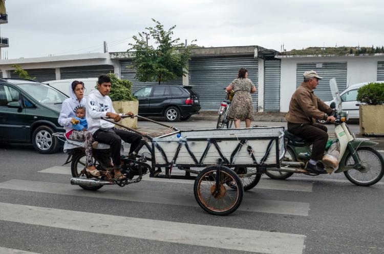Egyedi közlekedési megoldás (Fotó: Pandúr Gábor)