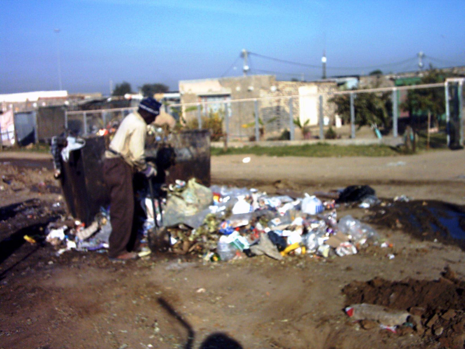 Bádogvárosi hulladéktárolás (Fotó: Szabó Ági)