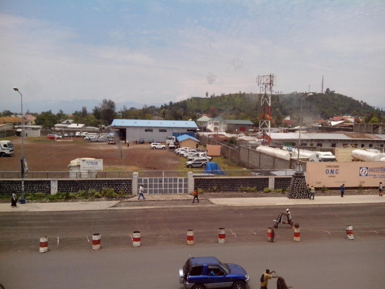Festik a választóvonalat (Goma, Kongó DK))
