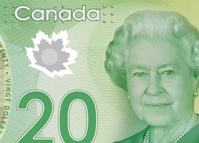 85 évesen a kanadai 20 dolláros bankjegyen (Kép: gdc.net)