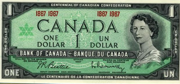 25 évesen a kanadai 1 dollároson (Kép: Photobucket/Lithograving)