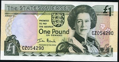 52 évesen Jersey 1 fontos bankjegyén (Kép: leftovercurrency.com)