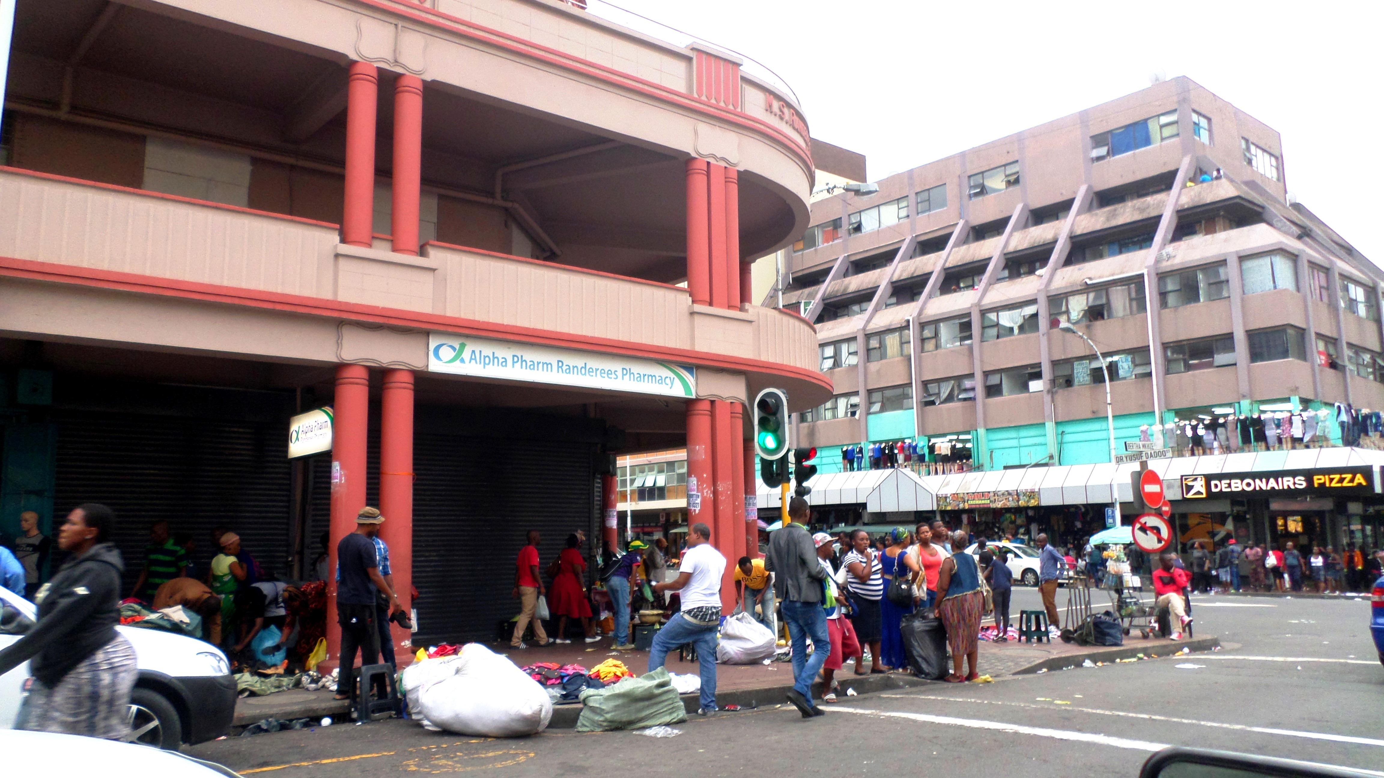 Durban, belváros (Fotó: Szabó Ági)