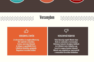 A miskolci turisztikai szervezet 2015-ben - Infografika