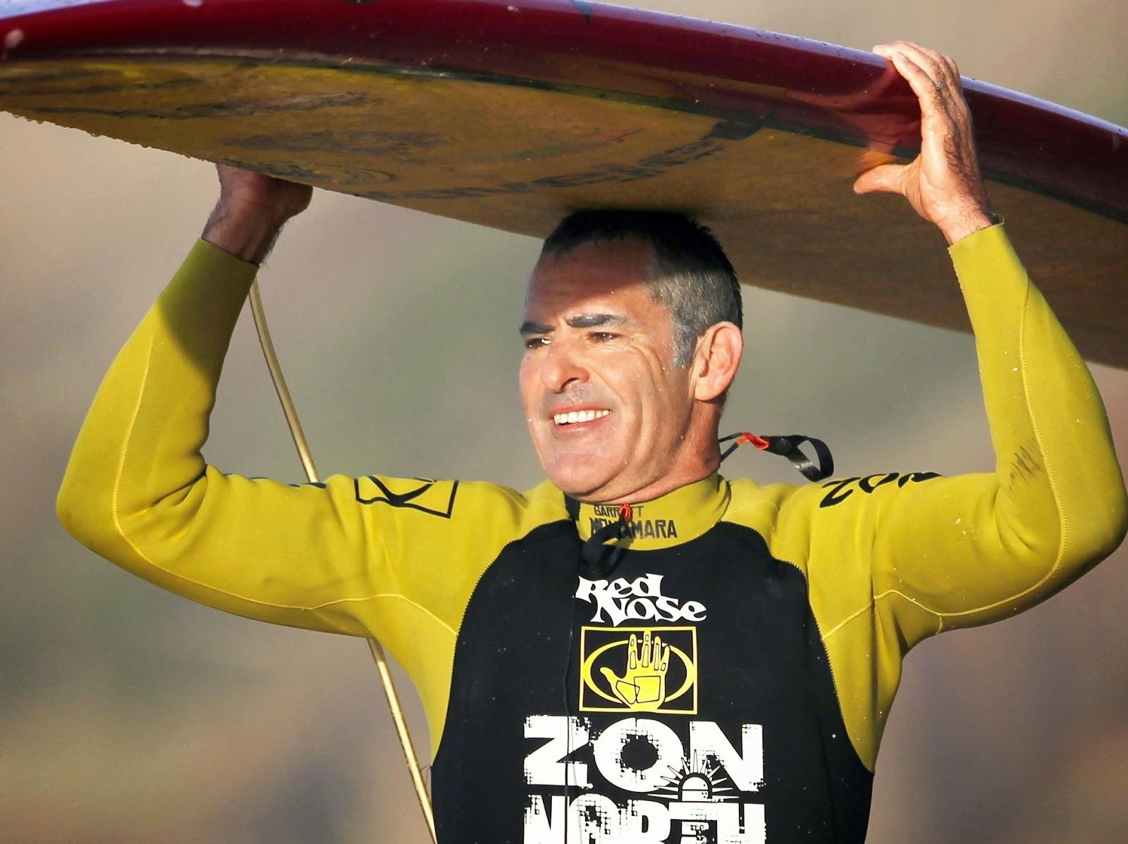 Garrett, a big wave csúcstartó (Fotó: waveridersacores.com)