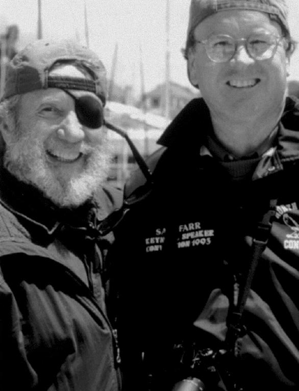 O'neill és Sam Farr, az USA kongresszusi tagja (Fotó:wikimedia.org)