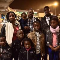Menekült családi kör halottakkal