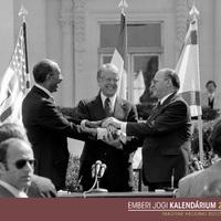 Március 26.: aláírják az egyiptomi–izraeli békét (1979)