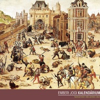 Augusztus 23.: a Szent Bertalan-éji mészárlás, tízezer protestánst ölnek meg (1572)