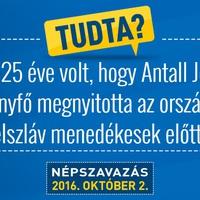 Antall József intelmei Orbán Viktorhoz
