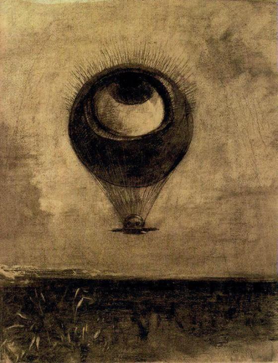 Redon_Odilon-Eye-Globe