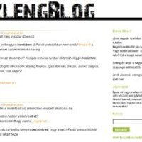 Blogajánló: Szleng blog