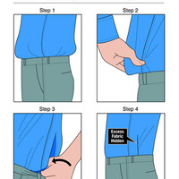 FÉRFIAKNAK – 4 módszer, hogy biztosan a nadrágodban maradjon az inged, ráadásul egész nap!