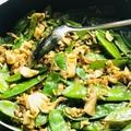 Laskagomba vad rizzsel, cukorborsóval ázsiai stílusban