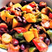 Vegán chili (nem con carne)