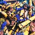 Levendulás sült batáta fügével és balzsamecet krémmel