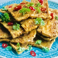 Tofu ropogós