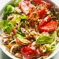 Gyros saláta - maradék sült húsból
